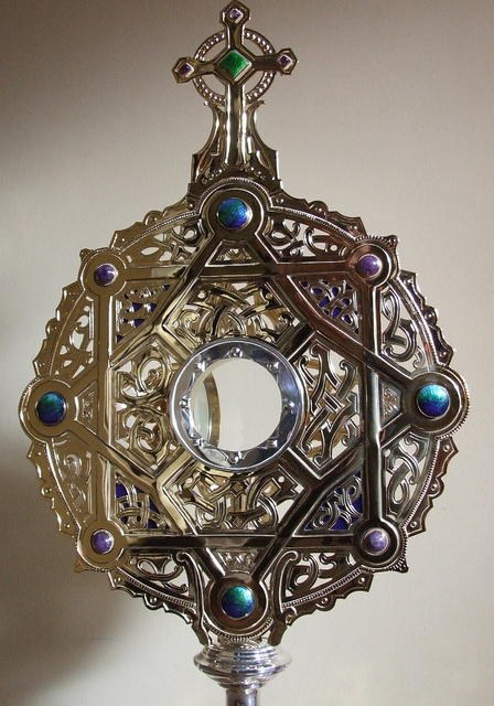 Closeup of Monstrance
